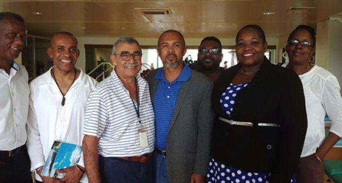CTM: Francis Carole fait visiter les les établissements hospitaliers de Martinique aux  Ministres de la Santé de l'OECS