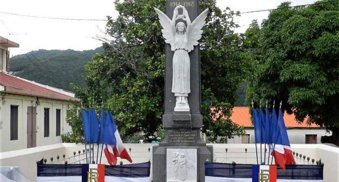 Au MARIN, sous-préfecture du Sud,  le 11 novembre 2017 -fête de l'Armistice de 1918- Hommage aux Marinois morts pour la FRANCE – Guerre 14-18.