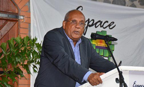 Vœux d'Eugène LARCHER, Président de l'Espace Sud