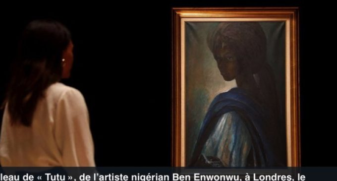 La « Mona Lisa africaine » du Nigéria  vendue plus de 1,3 million d'euros à Londres