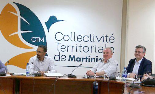 EOLIEN : Louis Boutrin rencontre les responsables du parc éolien de Grand-Rivière