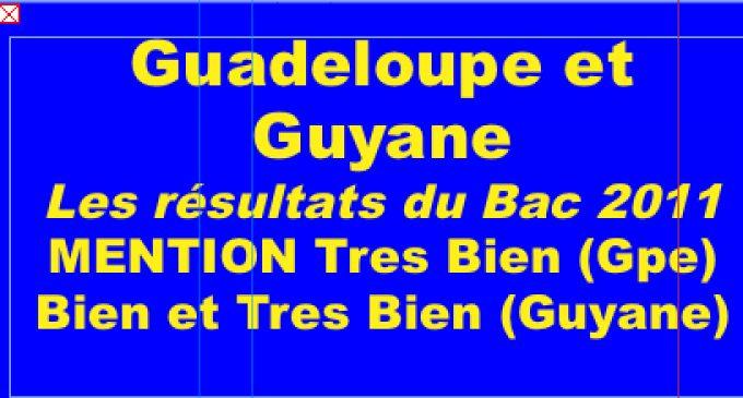 """Bac S en Guadeloupe: 79 mentions Très Bien sur  1214 inscrits au Bac S. Guyane 20 mentions TRES BIEN"""" et …"""