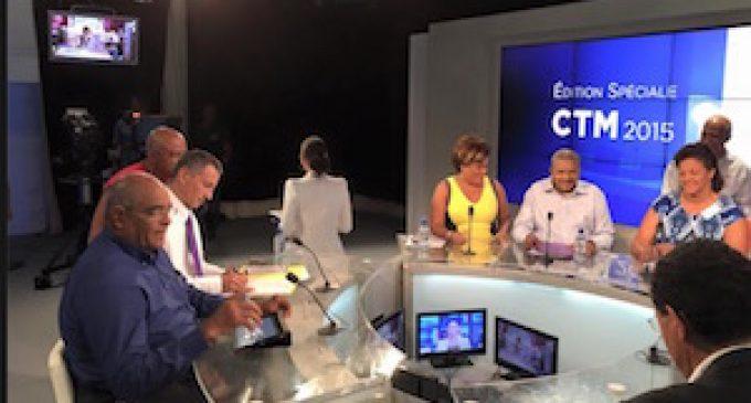 Le 1er débat sur la CTM à Martinique 1ere : deux faits se sont imposés