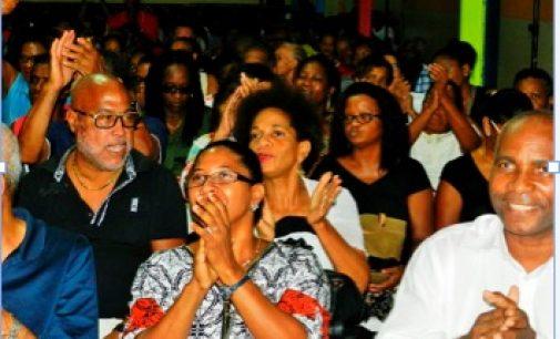 Gran Sanblé au Marin : Marie-Jeanne et Nilor remercient Rodoplhe Désiré…