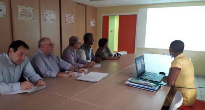 Visite en Martinique  du PrésidentDominique BUSSEREAU (Président de l'Assemblée des Départements de France)