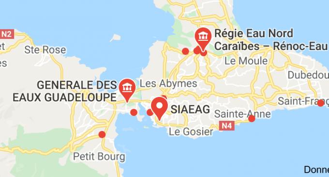 Guadeloupe, Un «manifeste» sur la question de l'eau qui en dit long…