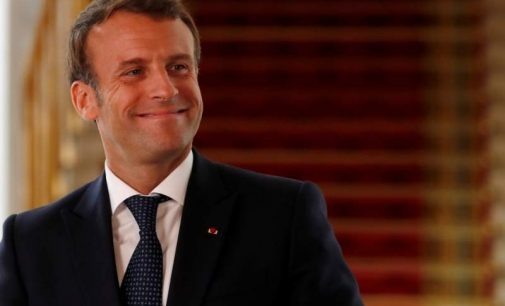 Macron et le deconfinement.