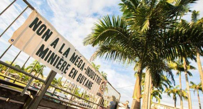 EELV : «Non à une deuxième Montagne d'or en Guyane !»