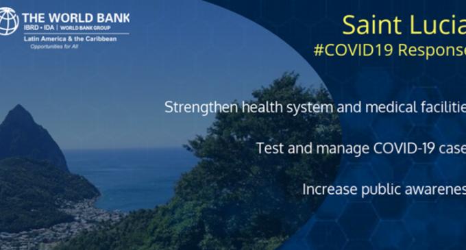 La Banque mondiale accorde 10,5 millions de dollars à Sainte-Lucie pour la réponse au COVID-19