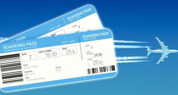 Une forte augmentation du prix des billets d'avion.