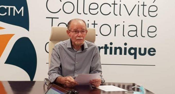 SUIVI DE LA PANDEMIE DE CORONAVIRUS- COVID-  PROPOS INTRODUCTIF DU PRESIDENT Alfred MARIE-JEANNE