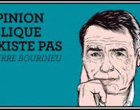 L'opinion publique n'existe pas. Pierre Bourdieu.
