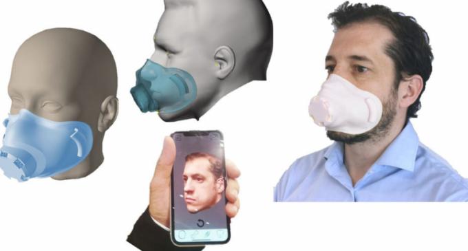 AnatoScope met au point la personnalisation des masques de protection grâce au scan 3D