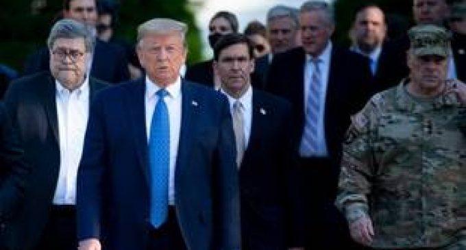 Mort de George Floyd : Malaise dans l'armée américaine, que Trump est accusé d'utiliser à des fins politiques