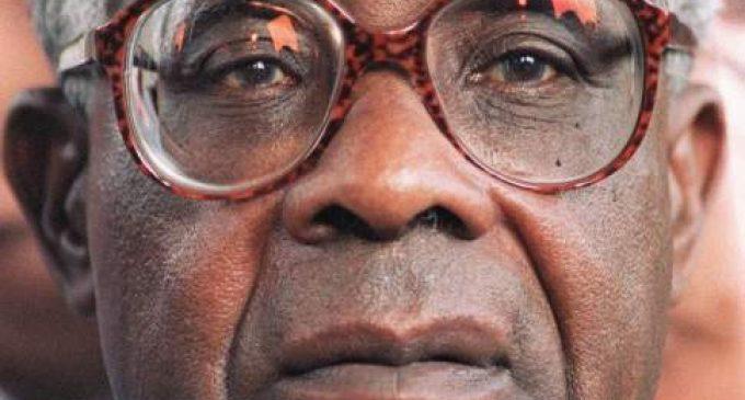 AIMÉ CÉSAIRE : ALLOCUTION À L'OCCASION DE LA PLANTATION DU COURBARIL