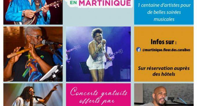 « Partez en musique en Martinique », une opération de soutien du comité martiniquais du tourisme