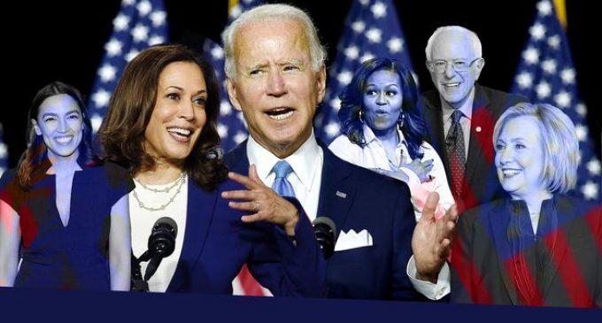 Convention démocrate US.