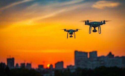 Dans l'œil du drone