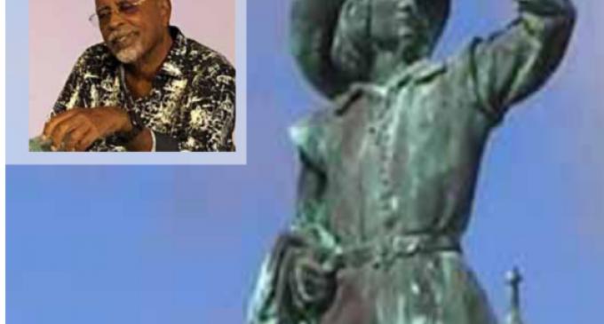 Destruction des symboles racistes En Martinique: l'humanité  Version Gérard Dorwling-Carter est La négation de l'humanité.