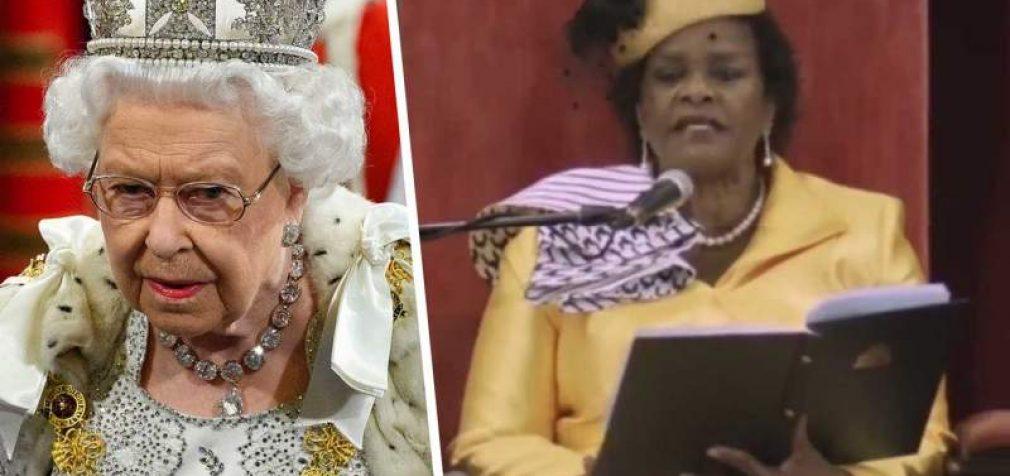 La reine Elizabeth détrônée à la Barbade.