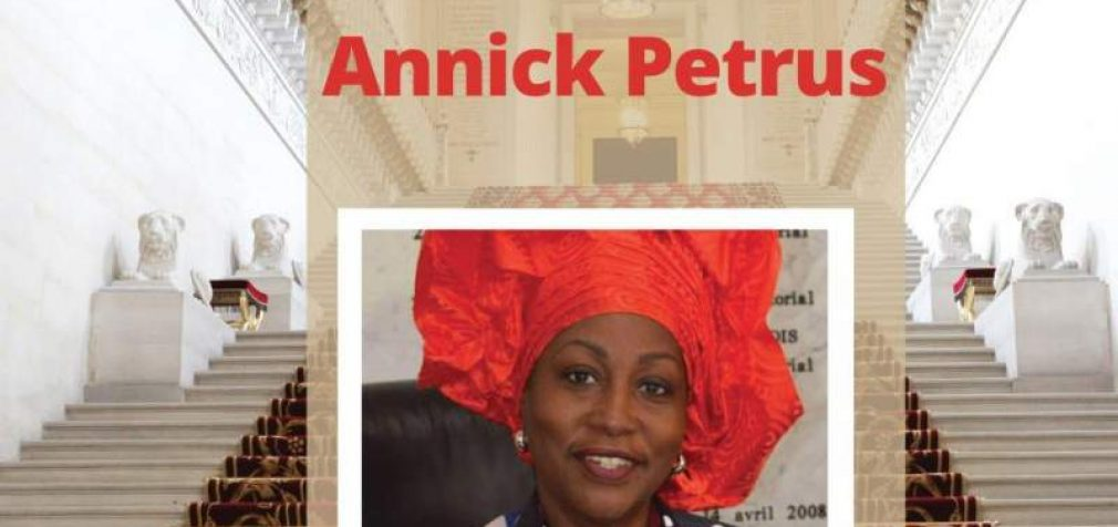 Annick Pétrus nouvelle sénatrice de Saint-Martin. (Publié le 30/09/2020.)