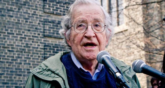Noam Chomsky: There's Reason for Hope