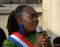 Danièle Obono soutenue contre Valeurs Actuelles par une manifestation anti-raciste