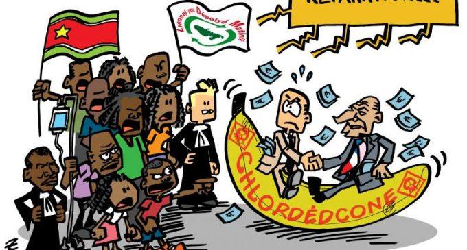 CHLORDÉCONE, PESTICIDES :  NOS COLÈRES ET NOS REVENDICATIONS NE SERONT NI CONFINÉES NI CONGELÉES !