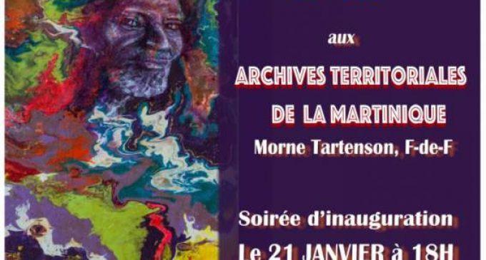 TERRITOIRES INTERIEURS présentée par Anbabwa Arts, le jeudi 21 janvier 2021 à 18h aux Archives de Martinique, Morne Tartenson à Fort-de-France.