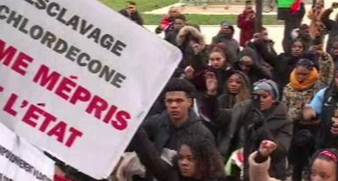 Chlordécone : manif non autorisée et réprimée à Paris