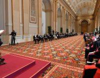 Vœux du pape François au corps diplomatiques, 8 février 2021.