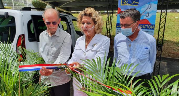 Intervention d'Alfred MARIE-JEANNE à l'Inauguration du site des véhicules électriques de la CGSSM