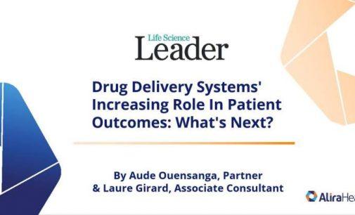 Rôle croissant des systèmes de distribution de médicaments dans les résultats pour les patients: et ensuite ?
