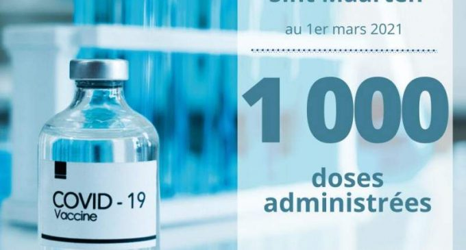 La barre des 1000 vaccinations franchie en partie hollandaise