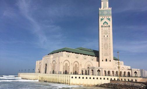 La mosquée de Casablanca