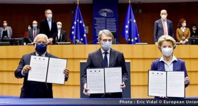 Déclaration commune de la Commission européen, du Conseil européen et du Parlement européenne relative à la Conférence sur l'avenir de l'Europe – 10 mars 2021