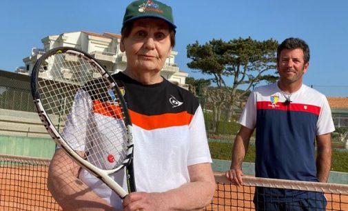 Royan : rencontre avec Monique Giffard, championne du monde de tennis à 91 ans