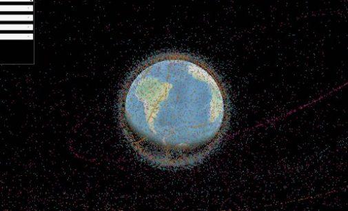 Cette visualisation montre à quel point l'orbite de la Terre est polluée.
