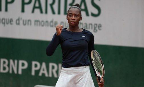 La Guadeloupéenne Océane Babel en route pour Roland Garros