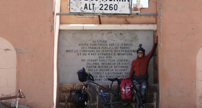 Pédaler d'Égypte jusqu'en Afrique du Sud en solo, c'est le défi que je me suis lancé