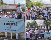 Nouvelle mobilisation à Fort-de-France contre le «pass sanitaire» et la vaccination obligatoire