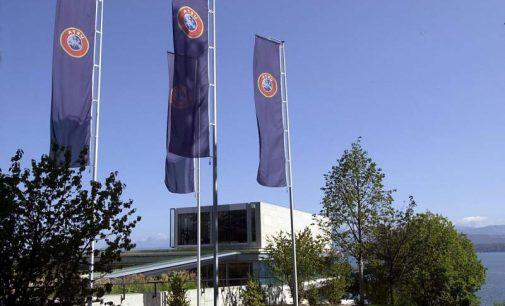 Descente de police et arrestations au siège de l'UEFA
