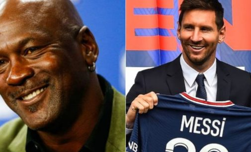 L'arrivée de Messi au PSG a déjà rapporté plusieurs millions de dollars à Michael Jordan ! by Stéphane Roy
